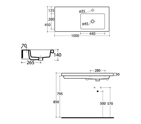 Technical drawing QS-V15894 / 114W1