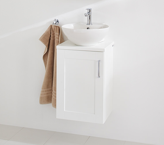 Additional image of Miller 400mm Round Ceramic Basin - 174W1