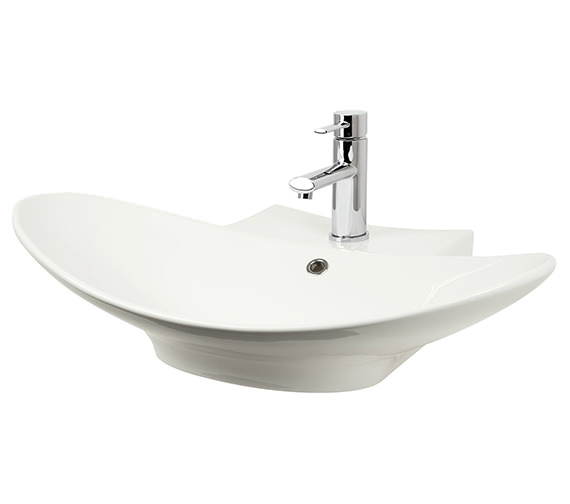 Miller 680mm Counter top Or Wall Hung Ceramic Basin - 117W1