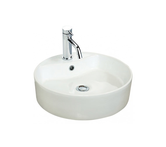 Miller 460mm Round Counter Top Ceramic Basin - 171W1