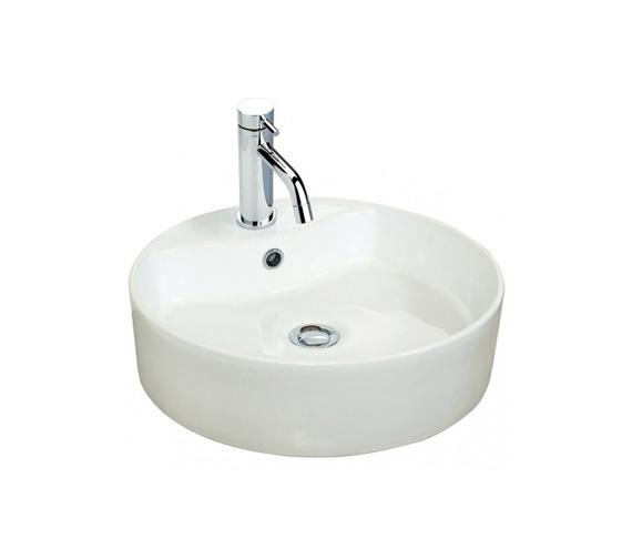 Miller 460mm Round Counter Top Ceramic Basin - 171W1