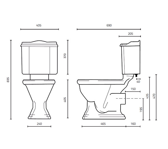 Technical drawing QS-V15903 / 788W/789W-C