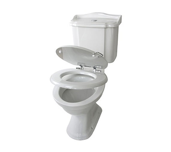 Alternate image of Miller Close Coupled WC Pan With Cistern And Soft Close Seat 690mm