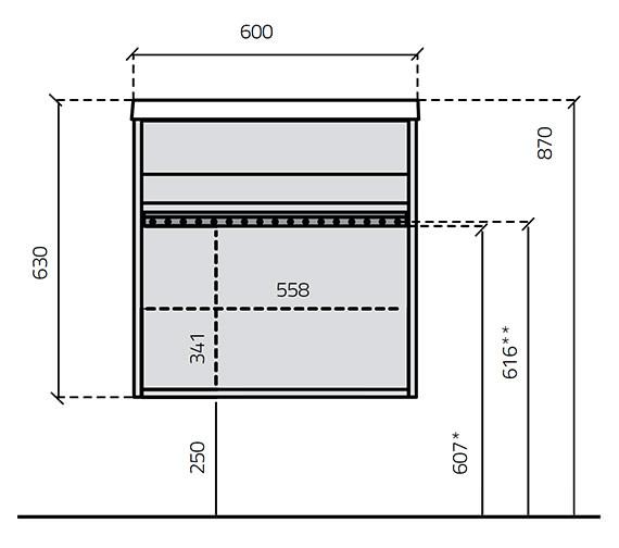 Technical drawing QS-V15912 / 586-2