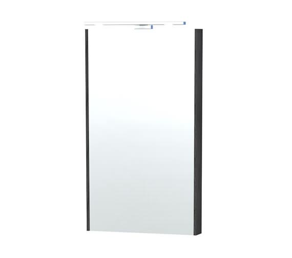 Miller London 40 Black Framed Mirror - 59-4