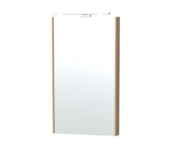Miller London 40 Oak Framed Mirror - 59-5