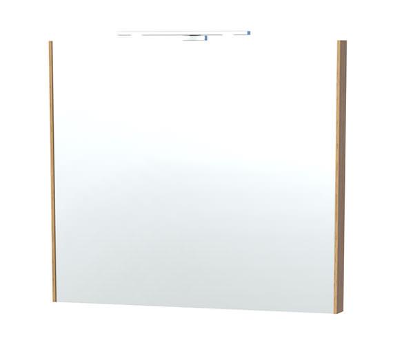 Miller London 80 Oak Framed Mirror - 61-5