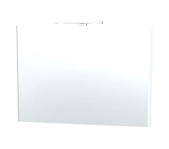Miller London 100 White Framed Mirror - 62-2