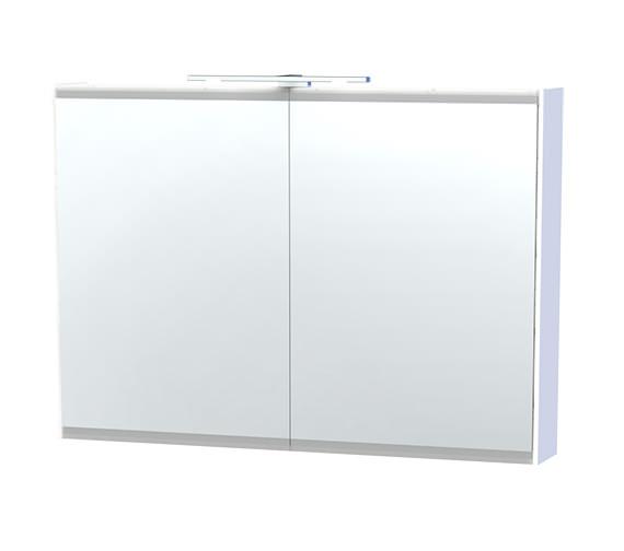 Miller London 100 White Double Door Mirror Cabinet 990 x 700mm