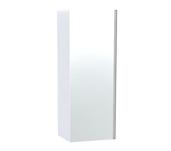 Miller London White Single Door Mirror Cabinet 400 x 1111mm