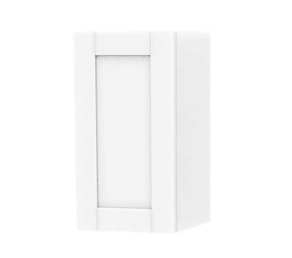 Miller London White Single Door Storage Cabinet 275 x 590mm