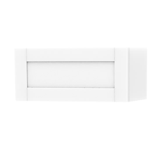 Miller London Single Door Storage White Cabinet 590 x 275mm