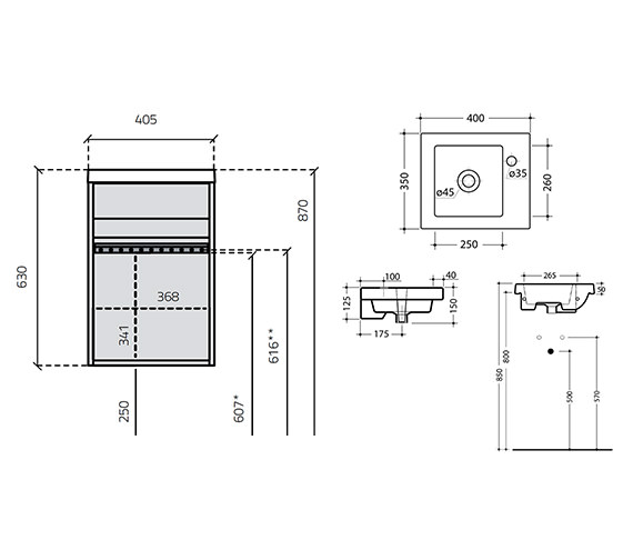 Technical drawing QS-V15994 / 284V-2