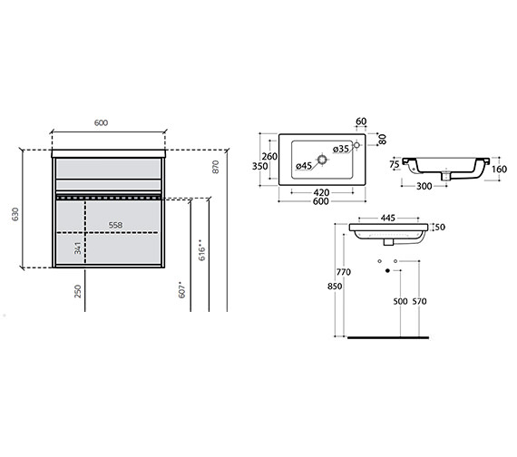 Technical drawing QS-V15999 / 286-2