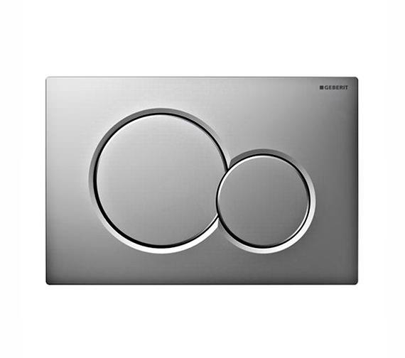 Geberit Sigma01 Dual Flush Plate Gloss-Matt Chrome - 115.770.KA.5