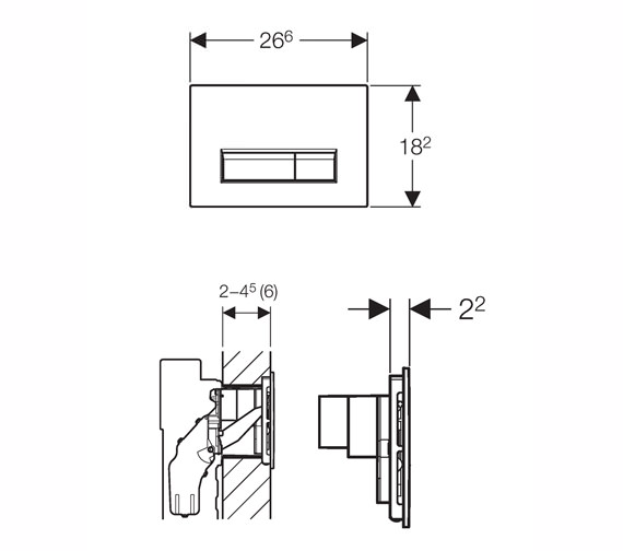 Technical drawing QS-V16021 / 115.600.KQ.1