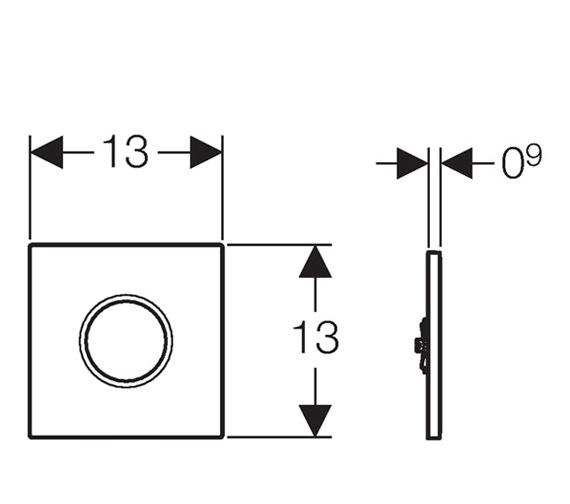 Technical drawing QS-V16027 / 116.021.11.5