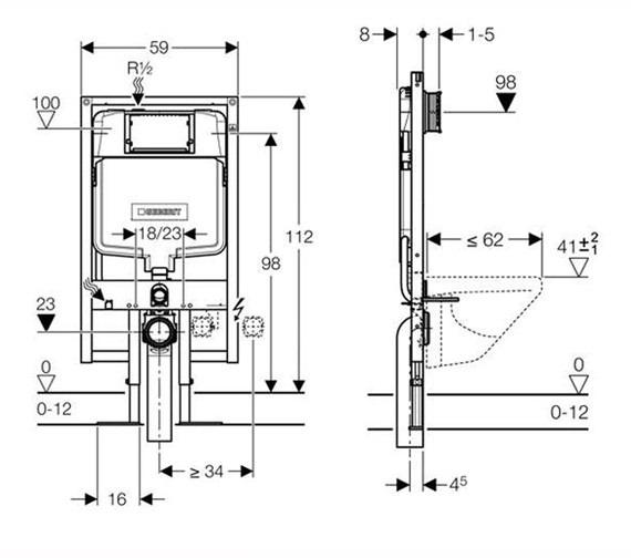 Technical drawing QS-V16031 / 111.799.00.1