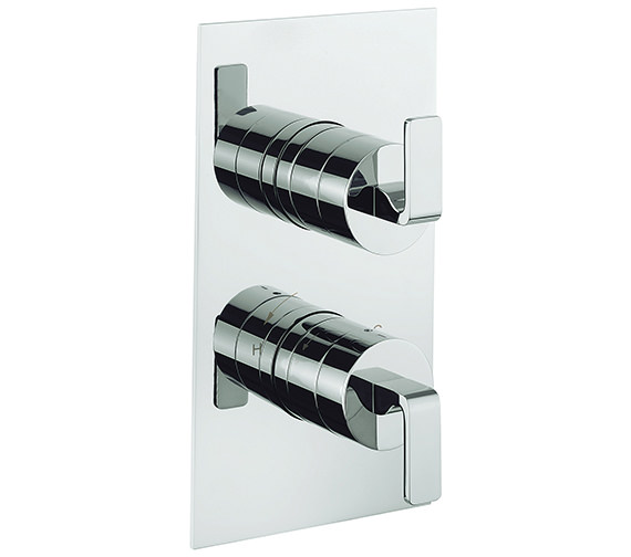 Crosswater KH Zero 1 Portrait Thermostatic Shower Valve With 2 Way Diverter