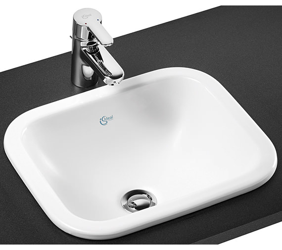 Ideal Standard Concept Cube 420mm Countertop Basin Without Tap Deck