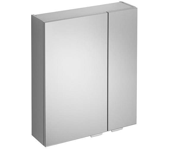 ideal standard bathroom cabinets ideal standard concept space aluminium effect 500mm mirror 18788