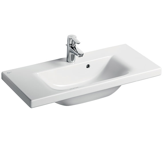 Ideal Standard Concept Space 800mm 1 Tap Hole Double Platform Basin