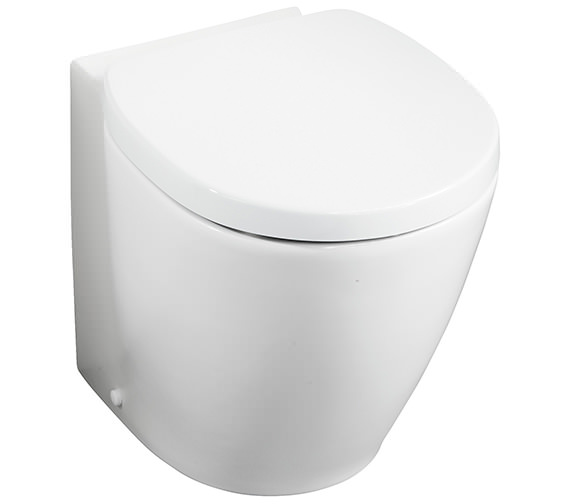 Ideal Standard Concept Space Compact Back-To-Wall Toilet 485mm