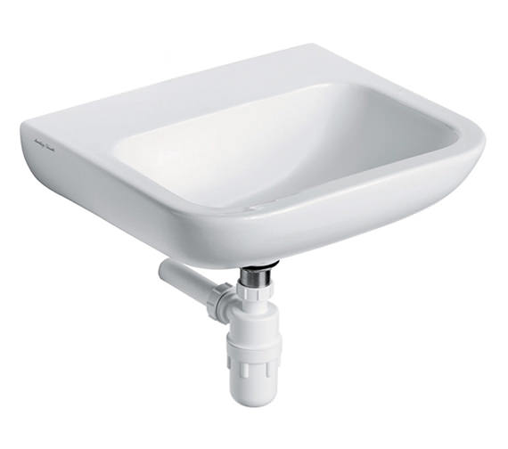 Armitage Shanks Portman 21 Wall Hung Basin 40 x 37cm With No Tap Holes