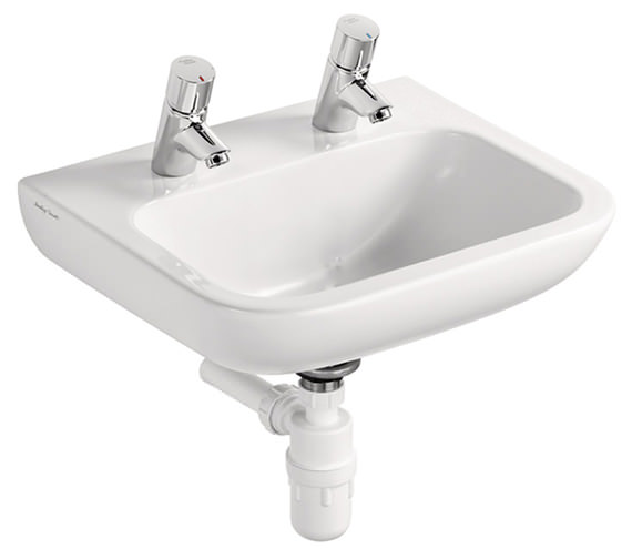Armitage Shanks Portman 21 40cm 2TH Basin With No Overflow No Chainstay Hole