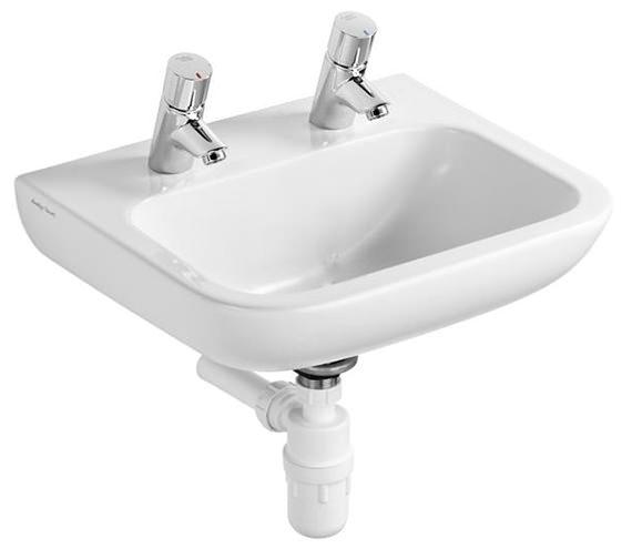 Armitage Shanks Portman 21 50cm Basin With No Overflow No
