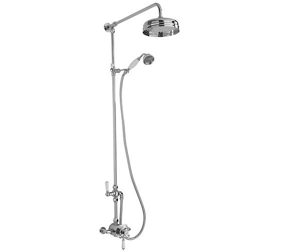 Premier Traditional Exposed Shower Valve With Riser Kit And Diverter