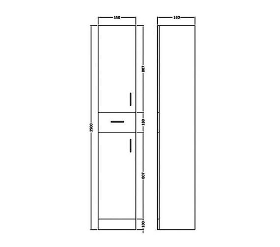 Technical drawing QS-V16246 / BEO-1651