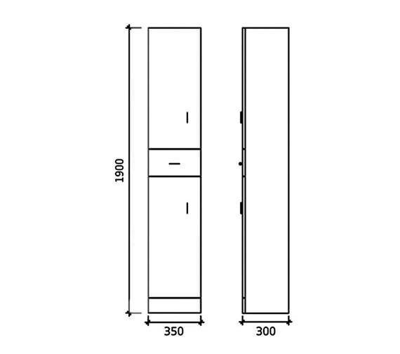 Technical drawing QS-V16247 / BEO-1652