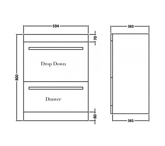 Technical drawing QS-V16248 / BEO-1653