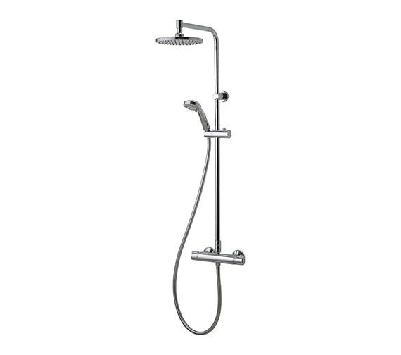 Aqualisa Midas 110 Thermostatic Shower Rigid Riser With Handset And Head