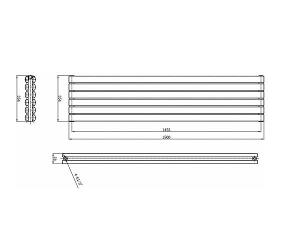 Technical drawing QS-V17306 / HL368H