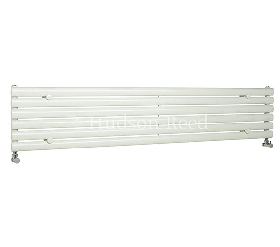 Hudson Reed Revive 1500 x 354mm White Single Panel Horizontal Radiator