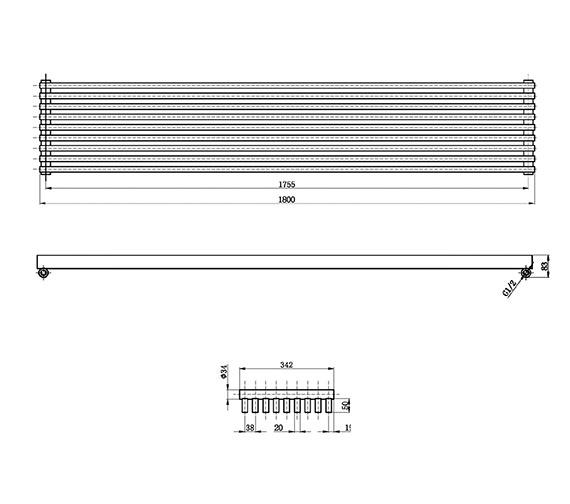 Technical drawing QS-V17311 / HLA90
