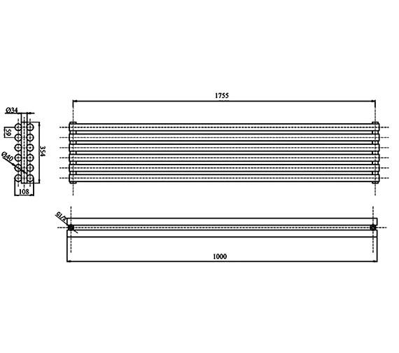 Technical drawing QS-V17317 / HLS92