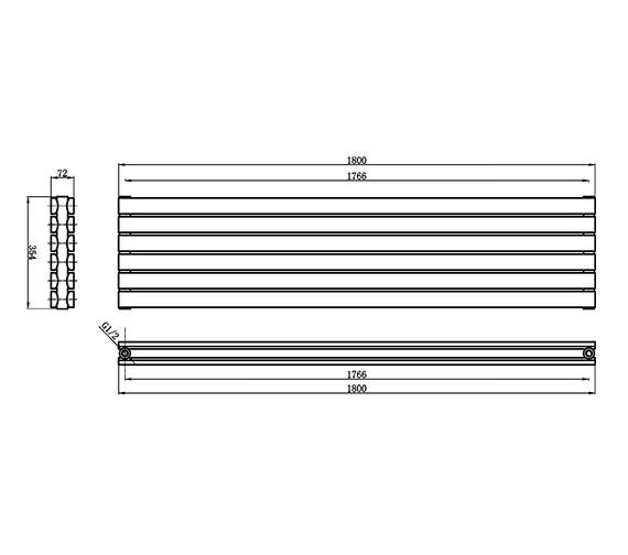 Technical drawing QS-V17324 / HLA74
