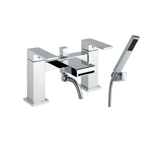 Mayfair Swell Chrome Bath Shower Mixer Tap With Kit - SWL007