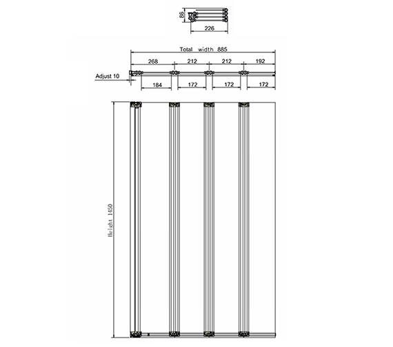 Technical drawing QS-V17538 / BS5