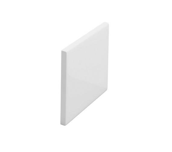 Britton Cleargreen EcoRound 720mm White Bath End Panel - R20E