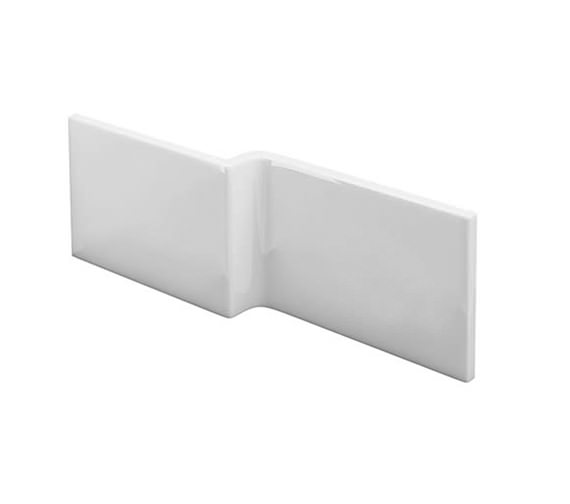 Britton Cleargreen EcoSquare 1700mm White Bath Front Panel - R18F