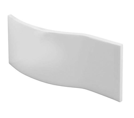 Britton Cleargreen EcoRound White Bath Front Panel 1500mm Wide