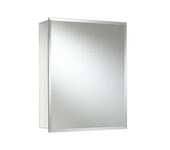 Alternate image of Croydex Winster Single Door Aluminium Cabinet 405 x 510mm - WC101169