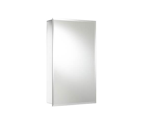 Alternate image of Croydex Medina Single Door Aluminium Cabinet 380 x 600mm - WC101269