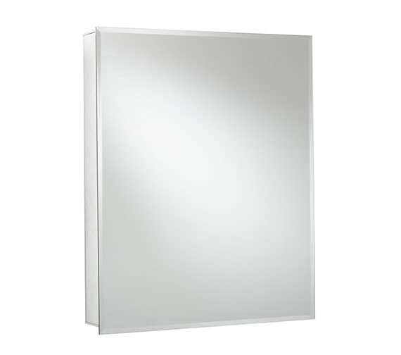 Alternate image of Croydex Langley Single Door Aluminium Cabinet 510 X 660mm - WC101369