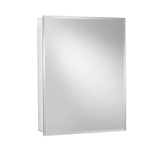 Alternate image of Croydex Haven Single Door Aluminium Cabinet 610 X 760mm - WC101469
