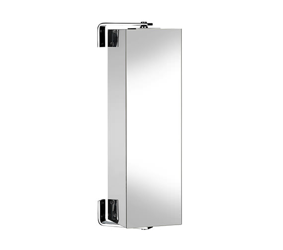 Alternate image of Croydex Ottawa 600mm Stainless Steel Spinning Cabinet - WC880505